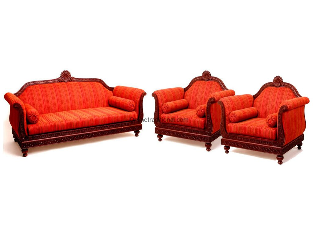 Sofa sets indian teak wood sofa set design for home Sofa set india