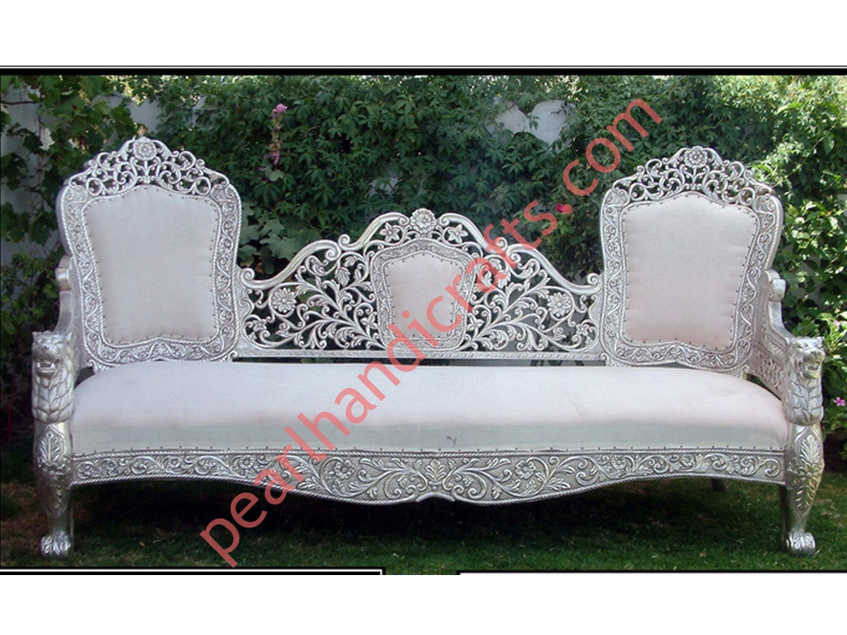 Awesome Metal Sofa Set Designer Metal Sofa Set Pearl Handicrafts Pdpeps Interior Chair Design Pdpepsorg