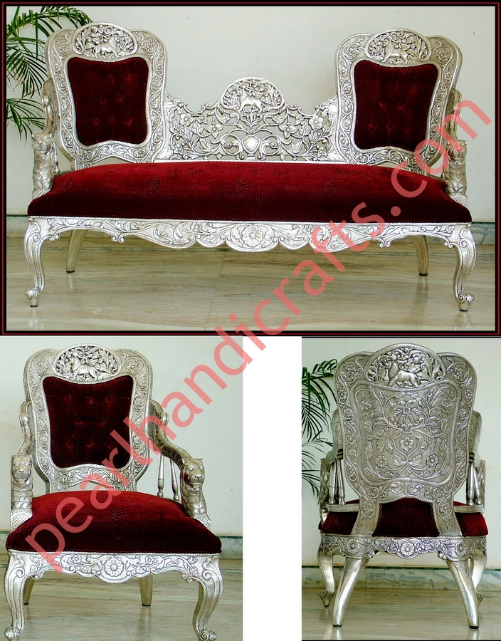 Super Metal Sofa Set Carved Wood For Home Pearl Handicrafts Pdpeps Interior Chair Design Pdpepsorg