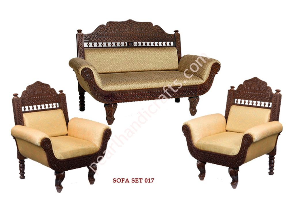 Teak Wood Sofa Set For Bedroom Home Garden Restaurant